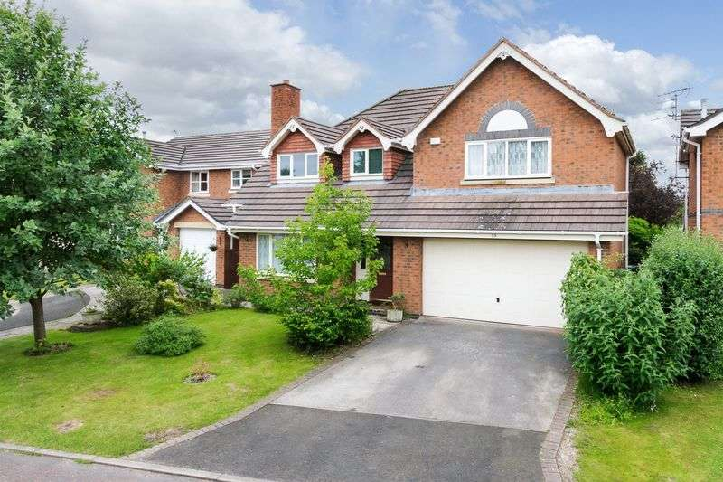 5 Bedrooms Detached House for sale in St. Catherine Drive, Northwich