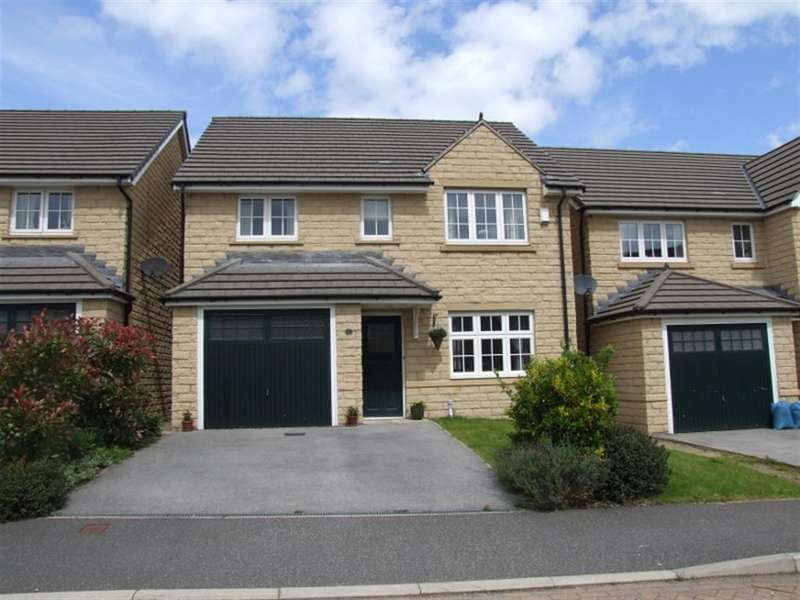 4 Bedrooms Detached House for sale in Garside Drive, Keighley Road, Halifax, HX2 8BJ