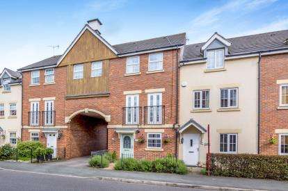 4 Bedrooms Terraced House for sale in Abbey Park Way, Weston, Crewe, Cheshire