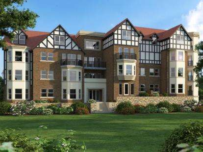 2 Bedrooms Flat for sale in Forest Hills, 53 - 55 Oak Drive, Colwyn Bay, Conwy, LL29