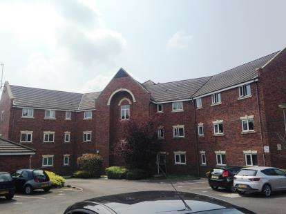 1 Bedroom Flat for sale in Lever Court, Lever Close, Blackburn, Lancashire, BB2