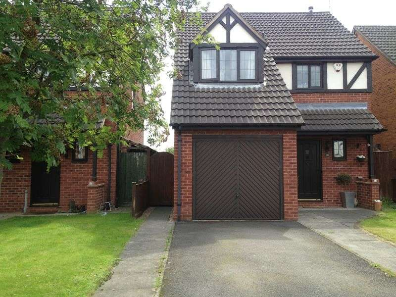 3 Bedrooms Detached House for sale in Eaton Close, Hatton, Derby