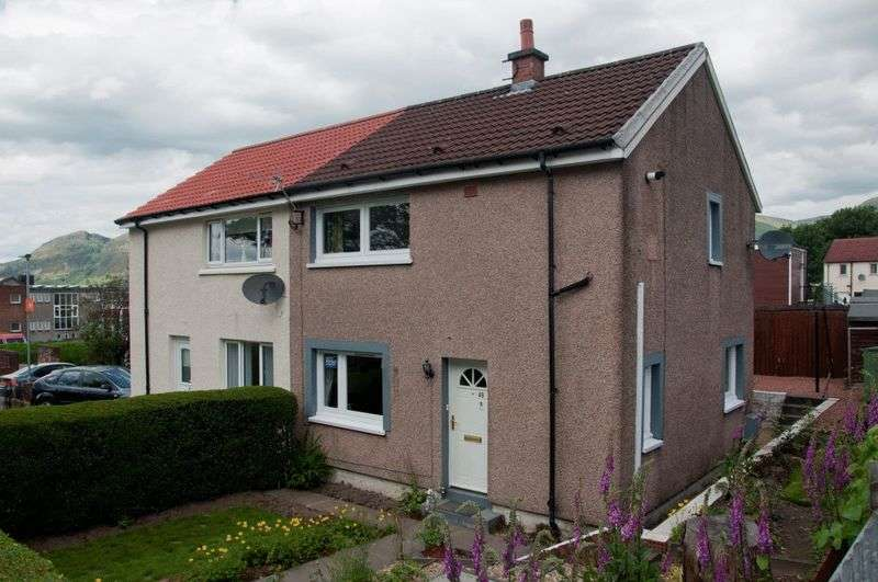 2 Bedrooms Semi Detached House for sale in Alloa Road, Tullibody
