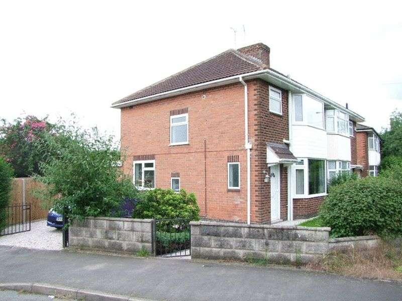 3 Bedrooms Semi Detached House for sale in Horton Avenue, Stretton