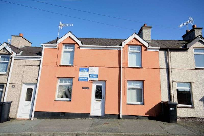 3 Bedrooms Terraced House for sale in Amlwch, Anglesey