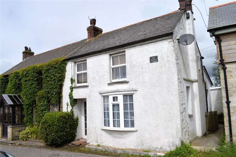 2 Bedrooms Semi Detached House for sale in Trewennack, Helston, Cornwall