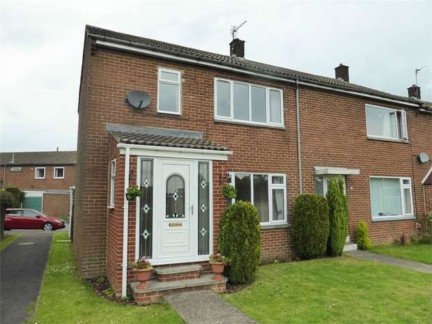 2 Bedrooms End Of Terrace House for sale in Thurlow Road, Sedgefield, Stockton-on-Tees, Durham