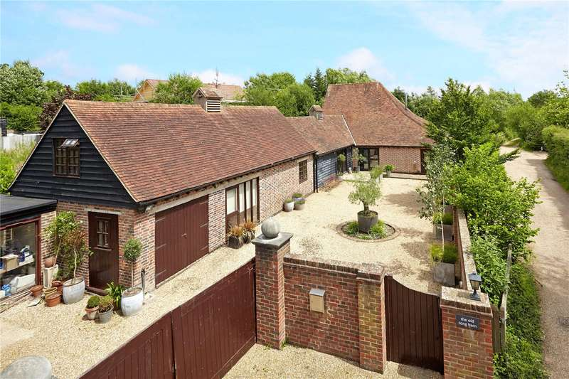 4 Bedrooms Detached House for sale in Tong Road, Brenchley, Tonbridge, Kent, TN12