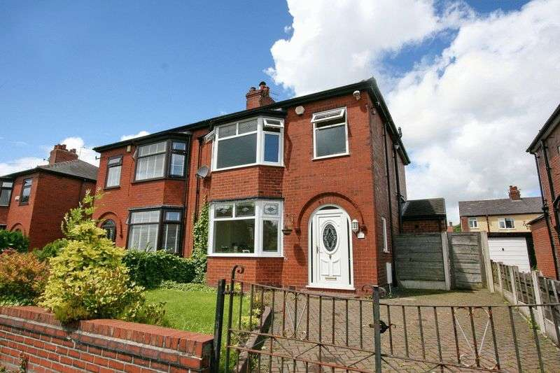 3 Bedrooms Semi Detached House for sale in Warwick Road, Worsley Manchester