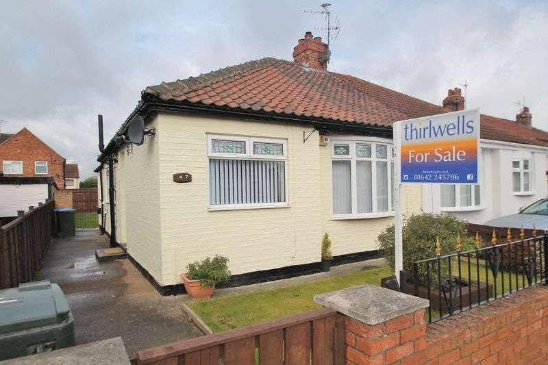 2 Bedrooms Semi Detached Bungalow for sale in Bournemouth Avenue, Ormesby