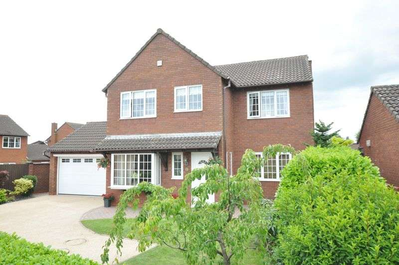 4 Bedrooms Detached House for sale in Athlestan Way, Stretton