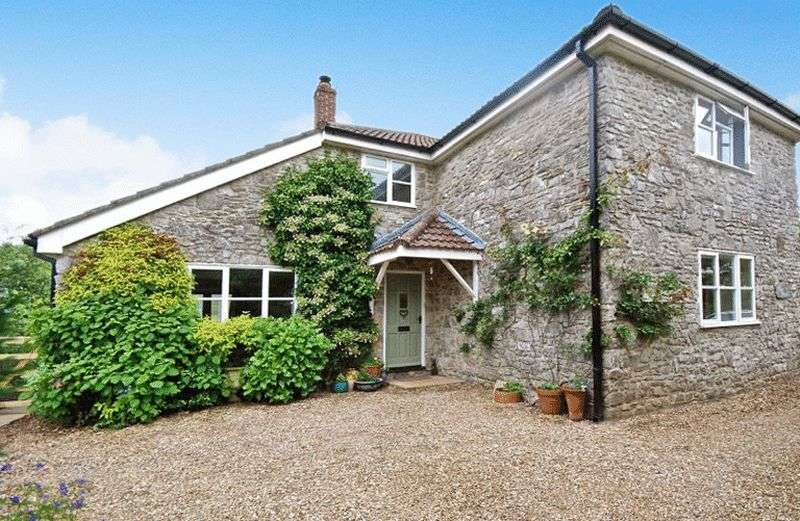 4 Bedrooms Detached House for sale in Pelting Drove, Wells