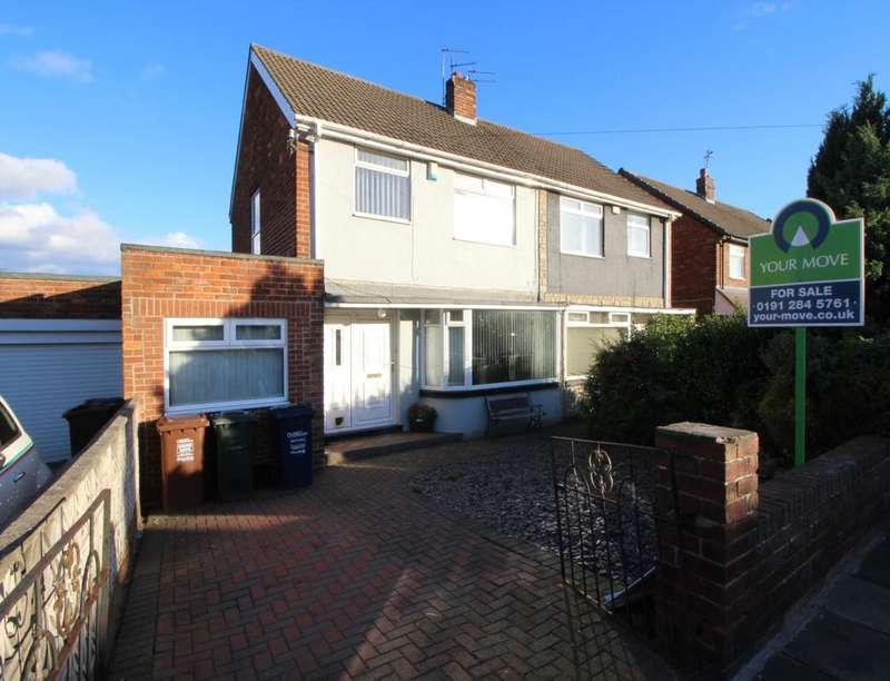 3 Bedrooms Semi Detached House for sale in Fawdon Lane, Newcastle Upon Tyne, NE3