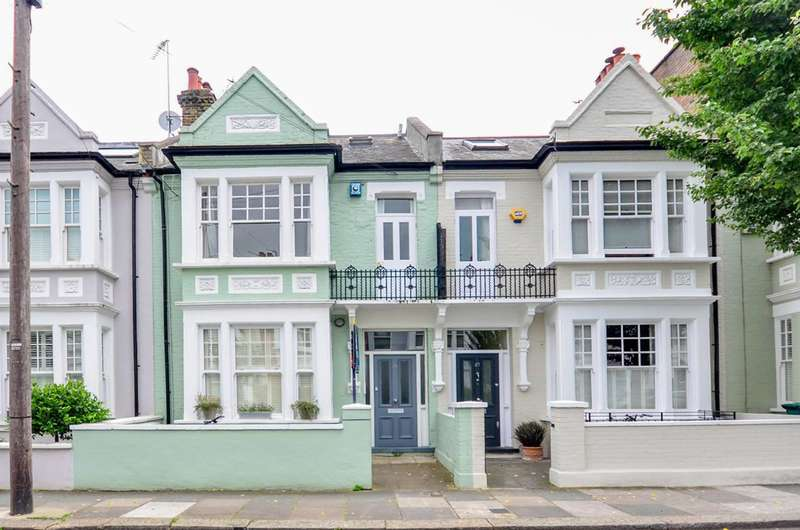 2 Bedrooms Flat for sale in Fernhurst Road, Munster Village, SW6