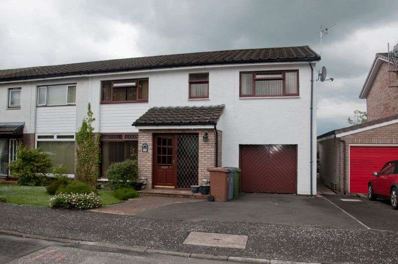4 Bedrooms Semi Detached House for sale in Brucefield Crescent, Clackmannan