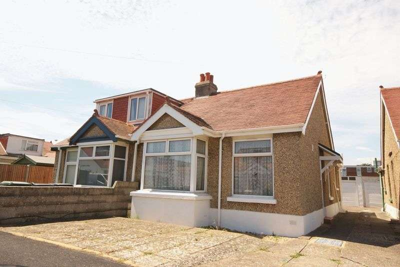 2 Bedrooms Semi Detached Bungalow for sale in Westcroft Road, Gosport, PO12