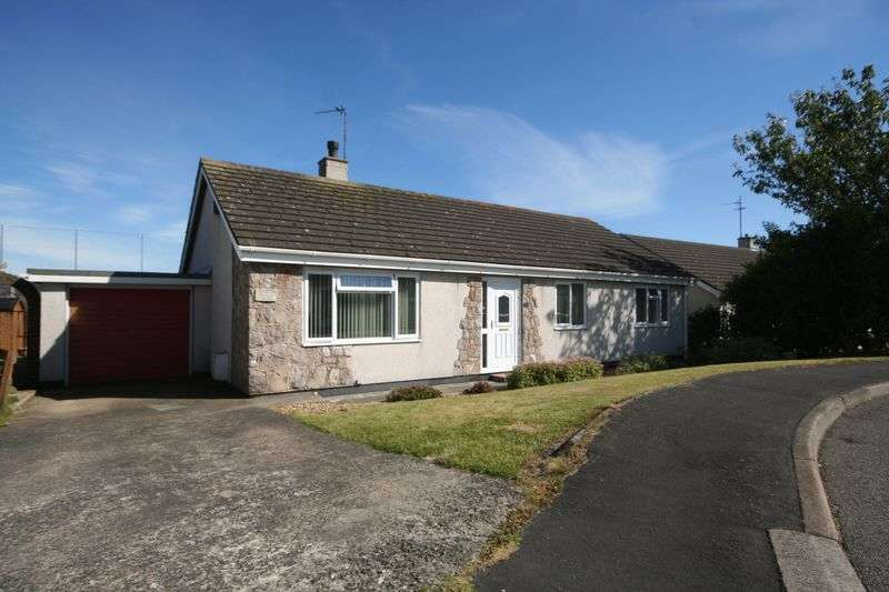 3 Bedrooms Detached Bungalow for sale in Garreglwyd Park, Holyhead, Anglesey
