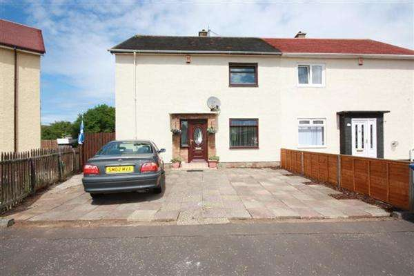 3 Bedrooms Semi Detached House for sale in Braemar Square, Ayr