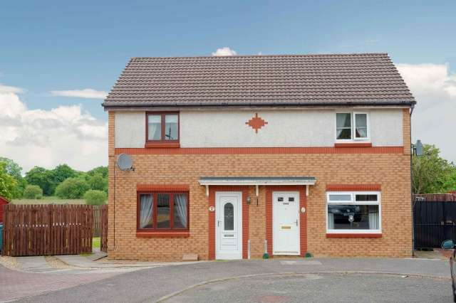 3 Bedrooms Semi Detached House for sale in Green Dale, Wishaw, North Lanarkshire, ML2 8XW