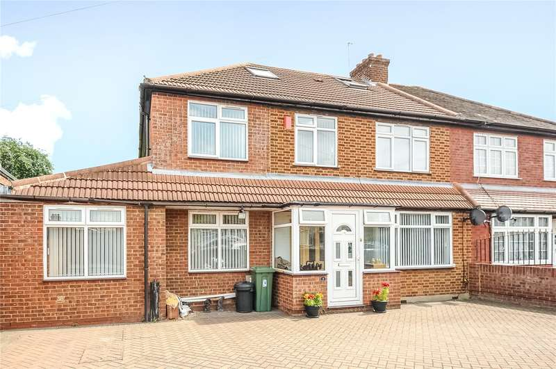 5 Bedrooms Semi Detached House for sale in Carlyon Road, North Hayes, Middlesex, UB4