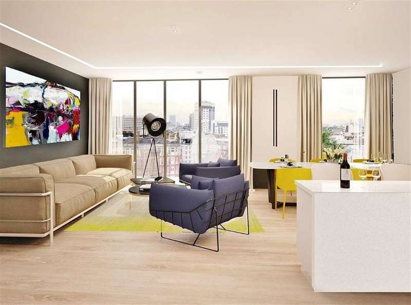 3 Bedrooms Property for sale in North One, Kings Cross, London