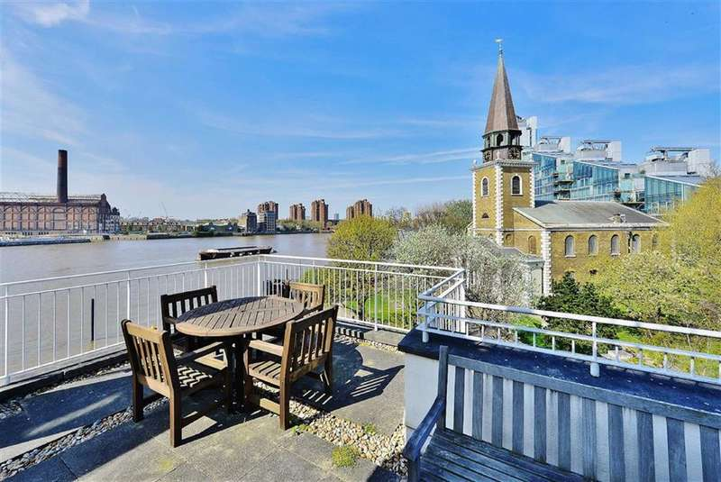 3 Bedrooms Property for sale in Old Swan Wharf, Battersea, London