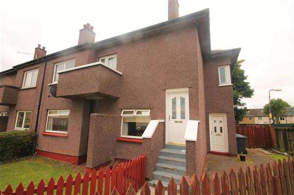 3 Bedrooms Flat for sale in Achray Place, Coatbridge