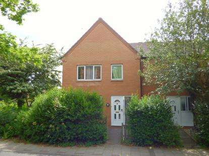 4 Bedrooms End Of Terrace House for sale in Polruan Place, Fishermead, Milton Keynes, Buckinghamshire