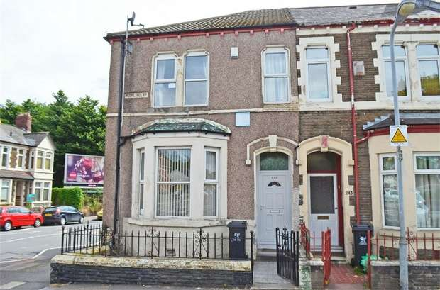 4 Bedrooms End Of Terrace House for sale in Moorland Road, Cardiff, South Glamorgan