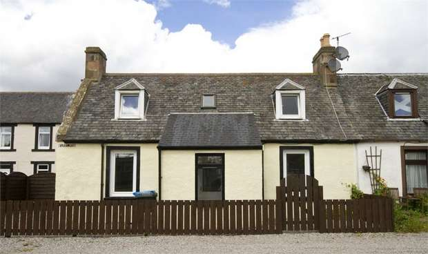 2 Bedrooms Cottage House for sale in Ferry Row, Invergordon, Highland