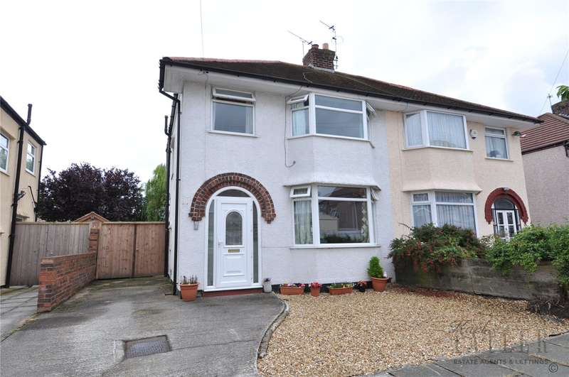 3 Bedrooms Semi Detached House for sale in Heygarth Drive, Greasby, Wirral
