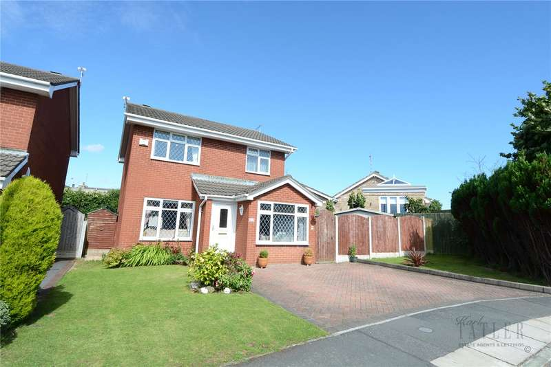 3 Bedrooms Detached House for sale in Thorness Close, Greasby, Wirral