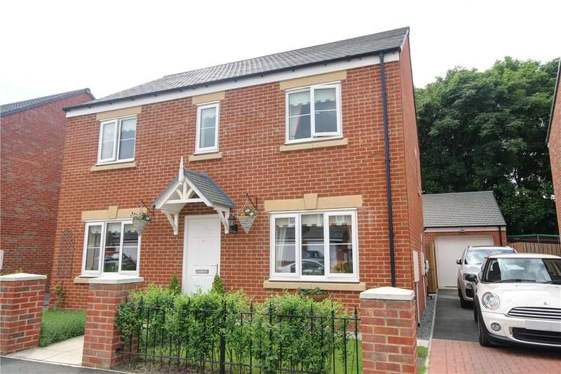 4 Bedrooms Detached House for sale in Sandringham Way, Newfield, Chester Le Street, DH2