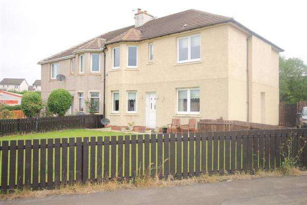 2 Bedrooms Flat for sale in Kilnwell Quadrant, Motherwell