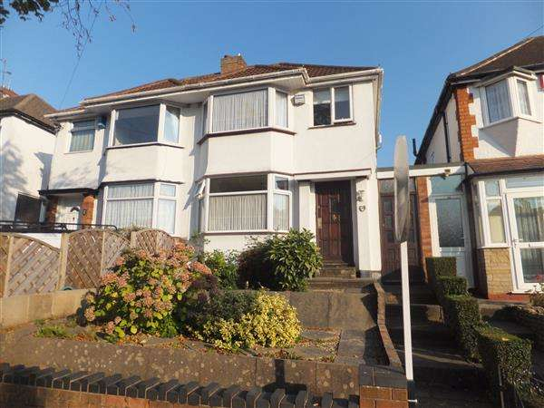 3 Bedrooms Semi Detached House for sale in Steyning Road, South Yardley, Birmingham