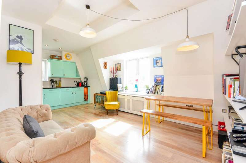 2 Bedrooms Flat for sale in Athenlay Road, Nunhead, SE15