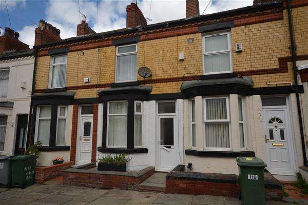 2 Bedrooms Terraced House for sale in Harrowby Road, Birkenhead