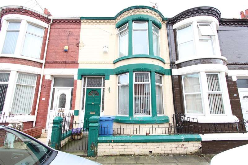 3 Bedrooms Terraced House for sale in Auburn Road, Tuebrook, Liverpool