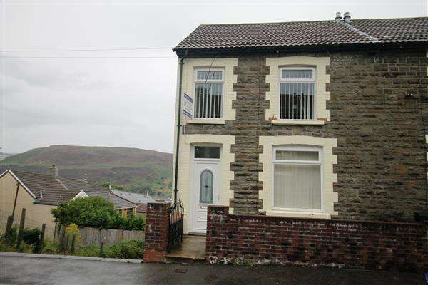 3 Bedrooms End Of Terrace House for sale in Thomas Street, Penygraig, Tonypandy