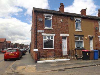 2 Bedrooms End Of Terrace House for sale in Scotta Road, Eccles, Manchester, Greater Manchester