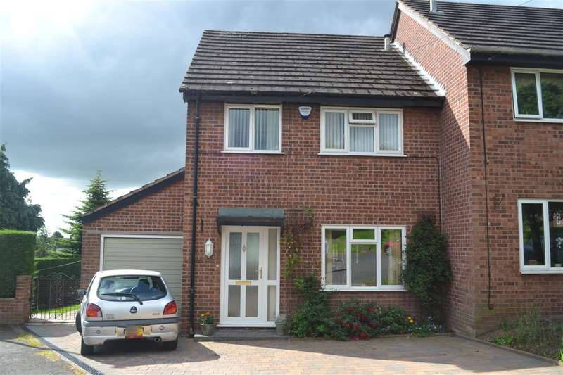 3 Bedrooms Semi Detached House for sale in St Oswalds Close, Malpas