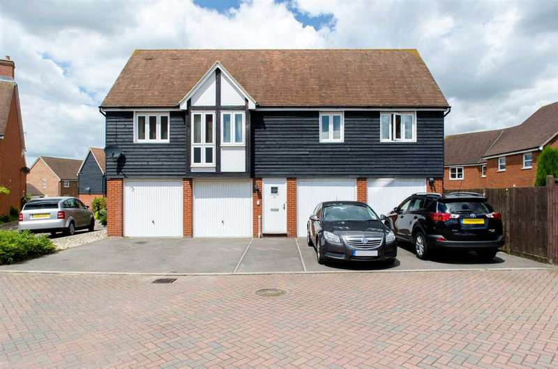 2 Bedrooms Detached House for sale in Bergamot Close, Sittingbourne