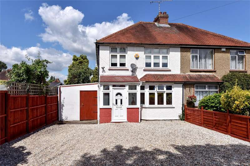 3 Bedrooms Semi Detached House for sale in Bath Road, Taplow, Maidenhead, Buckinghamshire, SL6