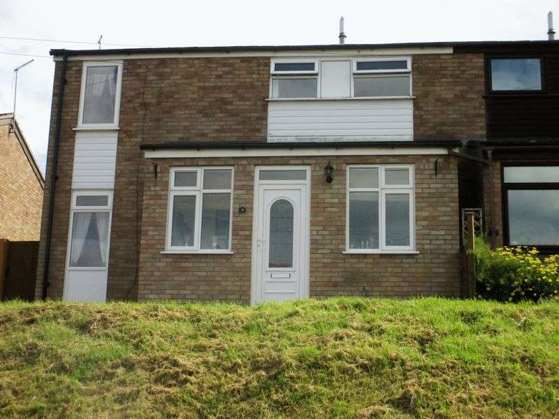 3 Bedrooms Semi Detached House for sale in Vicarage Road, Flecknoe, CV23 8AY