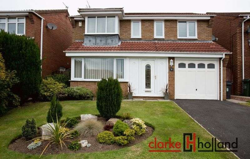 3 Bedrooms Detached House for sale in Whittingham Close, Ashington