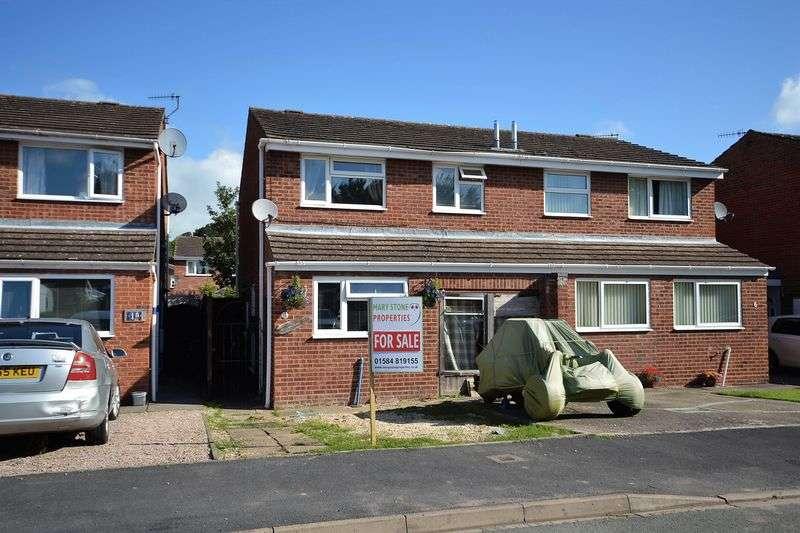 3 Bedrooms Semi Detached House for sale in Oak Tree Close, Tenbury Wells