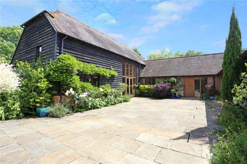 4 Bedrooms Barn Conversion Character Property for sale in West Chiltington Lane, Broadford Bridge, Billingshurst, West Sussex, RH14