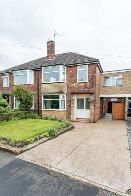 4 Bedrooms Semi Detached House for sale in Riverview Avenue, North Ferriby, East Yorkshire, HU14