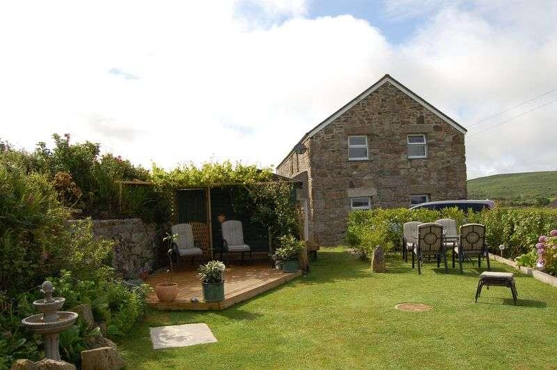 4 Bedrooms Detached House for sale in Halsetown, St. Ives