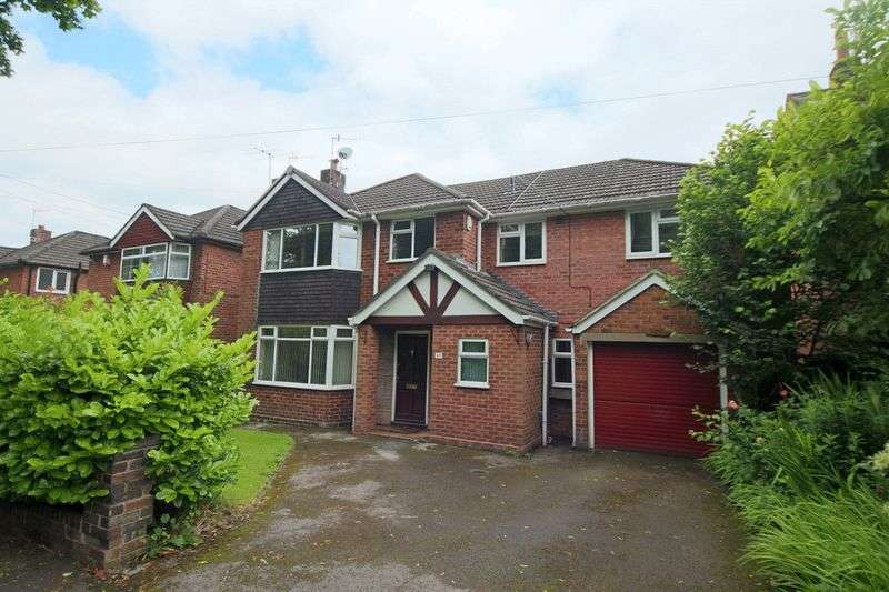 4 Bedrooms Detached House for sale in Longton Road, Trentham